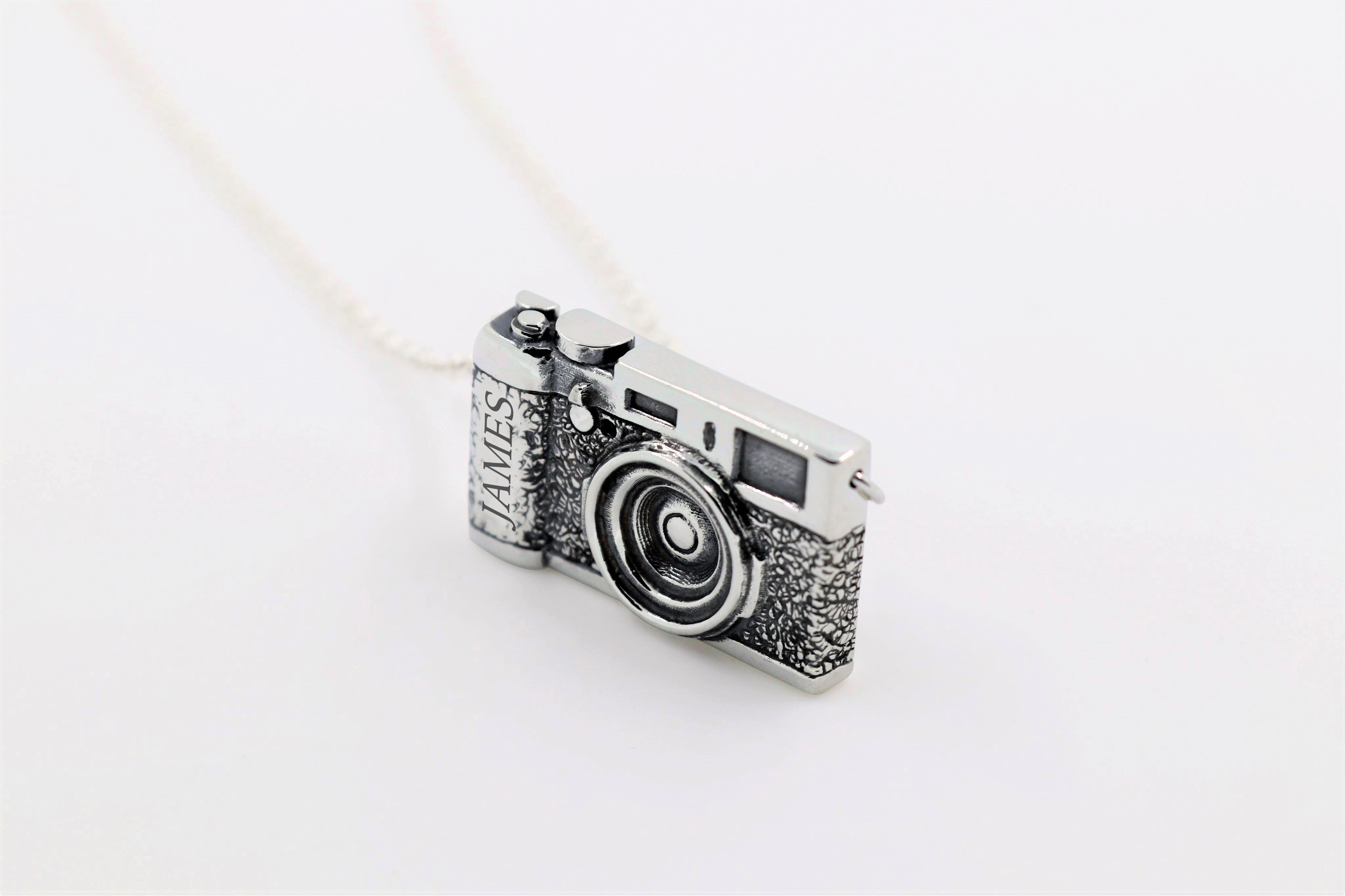 Custom Camera Pendant - The W Brothers