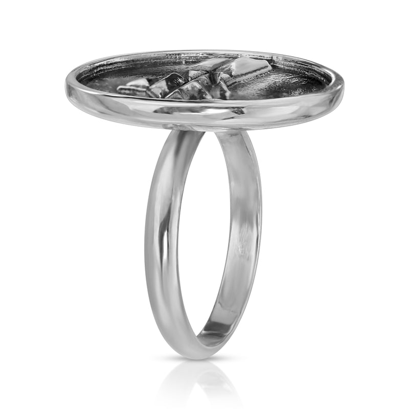 Geometric Dolphin Ring - The W Brothers