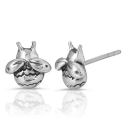 The W brothers Monsterz Collection featuring our handcrafted Bumblebee Stud Earrings, designed from premium Grade A 925 Sterling Silver, perfect for a fashionable & cute look for men and women. Available in silver, gold and rose gold at www.thewbros.com