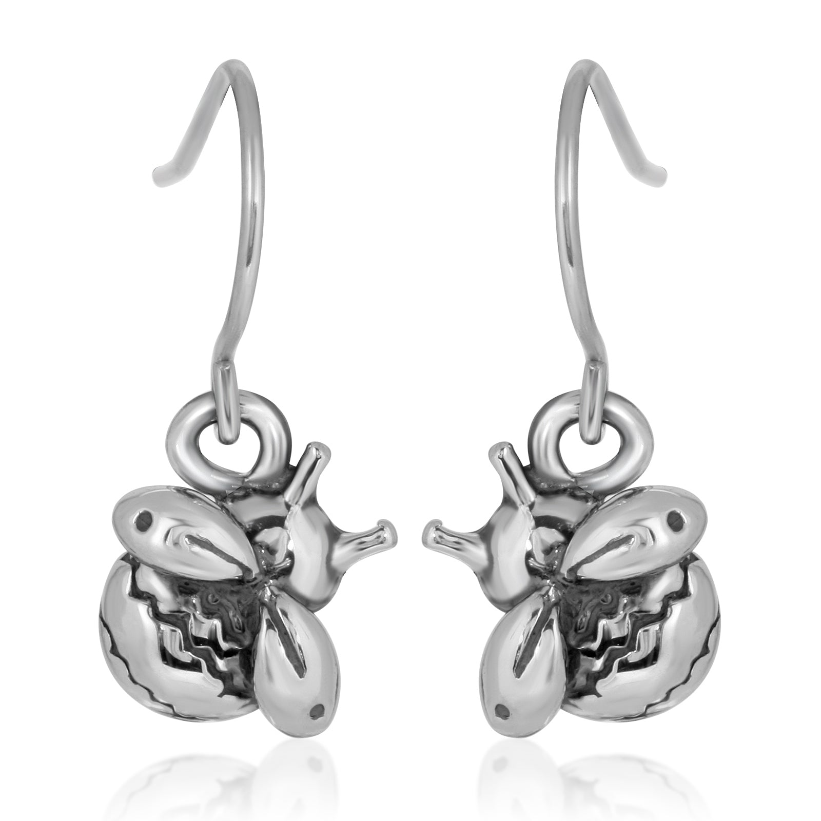 The W brothers Monsterz Collection featuring our handcrafted Bumblebee Earrings, designed from premium Grade A 925 Sterling Silver, perfect for a fashionable & cute look for men and women. Available in silver, gold and rose gold at www.thewbros.com