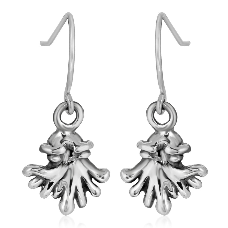 The W Brothers silver kraken earrings, the w bros the w brothers silver women earrings, 925 sterling silver earrings for women females girls, cute monster earrings, cute dangle silver earrings, high end fashion earrings, thewbros silver earrings for woman, woman women earrings silver jewelry dangle earrings the w bros silver monster earrings, silver squid earrings ocean creature earrings, cute fashion earrings squid silver earrings