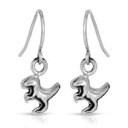 The W brothers Dinosaur Collection featuring our handcrafted Raptor Earrings, designed from premium Grade A 925 Sterling Silver, perfect for a fashionable & cute look for men and women. Available in silver, gold and rose gold at www.thewbros.com