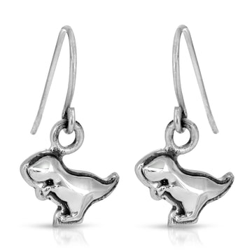 The W Brothers Dinosaur Collection featuring our T-Rex Earrings crafted from premium grade 925 Sterling Silver, perfect for women's fashion, style, and class.
