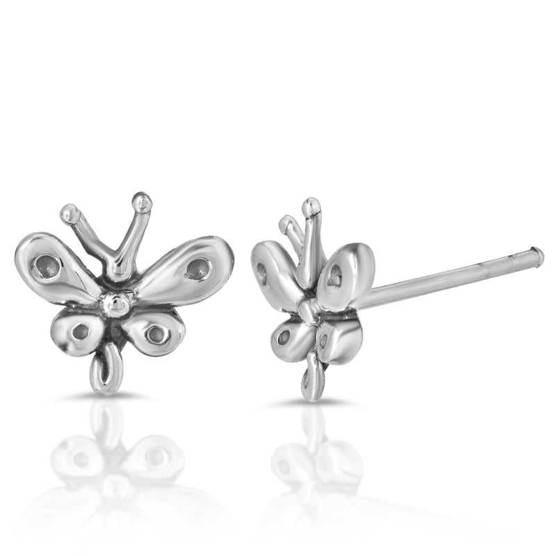 The W brothers Monsterz Collection is featuring our handcrafted Baby Butterfly Stud Earrings, designed from premium Grade A 925 Sterling Silver, perfect for a fashionable & cute look for men and women. Available in silver, gold, rose gold at www.thewbros.com.