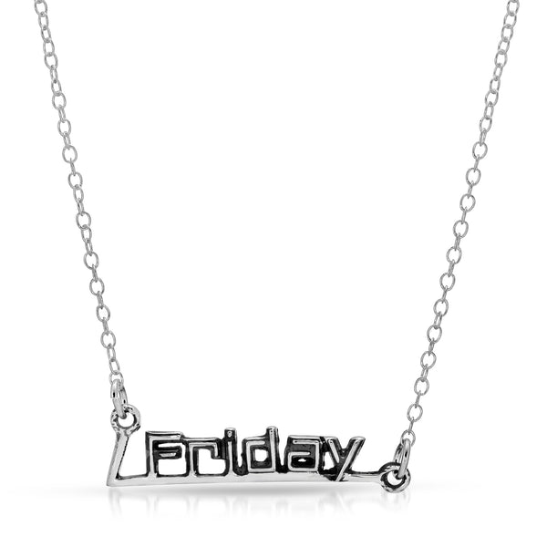 Friday Necklace - The W Brothers