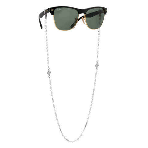 Monogram Glasses Chain