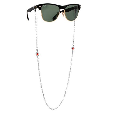 Crystal Orb Glasses Chain