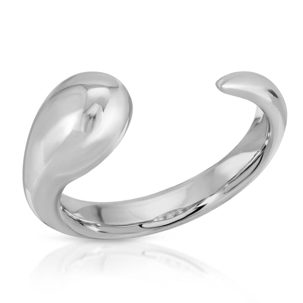 The W Brothers Premium Grade A 925 Sterling Silver Cloud Ring, perfect for a fashionable statement for men and women's jewelry accessory. Available at www.thewbros.com