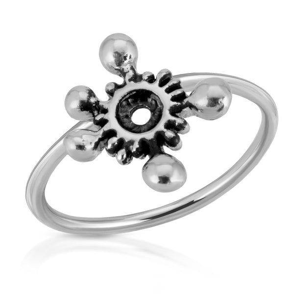 The W brothers Germ Collection featuring our handcrafted Pathogen Ring, designed from premium Grade A 925 Sterling Silver, perfect for a fashionable & cute look for men and women. Available at www.thewbros.com