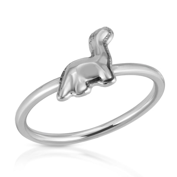The W Brothers Dinosaur Ring Collection featuring our Brachio saurus Dinosaur casted and crafted in premium Grade A Silver, showcasing elegance, fashion, and history. Available in Silver, 14k Gold, and 14k Rose Gold.