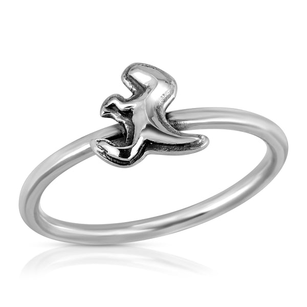 The W Brothers Dinosaur Collection featuring our Raptor Ring, crafted from premium grade 925 Sterling Silver, perfect for women's fashion. Available at www.thewbros.com