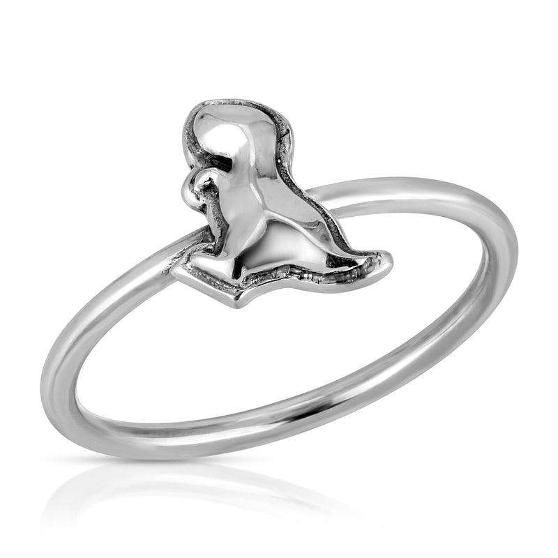 The W Brothers Dinosaur Collection featuring our Sterling Silver T-Rex Ring crafted from premium grade 925 Sterling Silver, perfect for women's fashion, style, and class. Available at www.thewbros.com