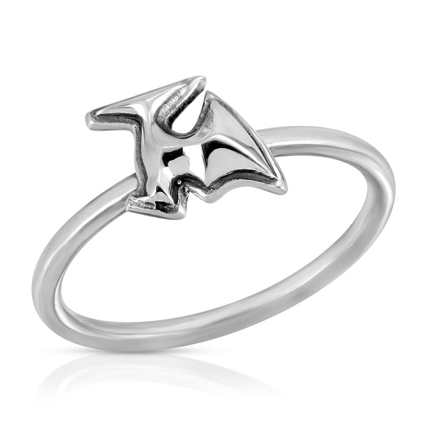 The W Brothers Dinosaur Collection featuring our Pterodactyl Ring handcrafted in 925 Sterling silver, perfect for women's fashion.