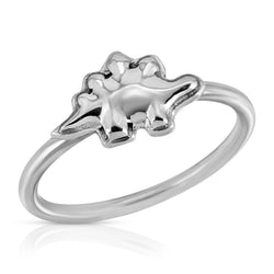 The W Brothers Dinosaur Collection featuring our 925 Sterling Silver Stegosaurus Ring handcrafted in 925 Sterling silver, perfect for women's fashion. Available at www.thewbros.com