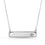 Crystal Element Bar Necklace