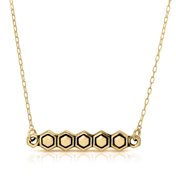 Highlight Honeycomb Necklace - The W Brothers