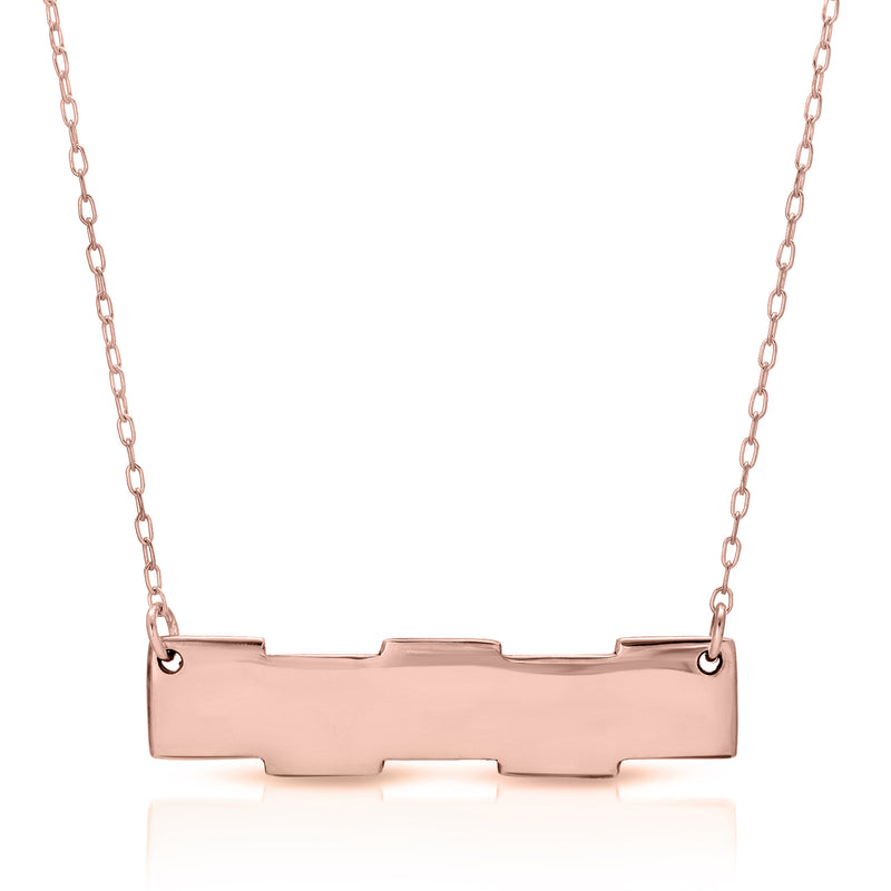 Puzzle Bar Necklace - The W Brothers