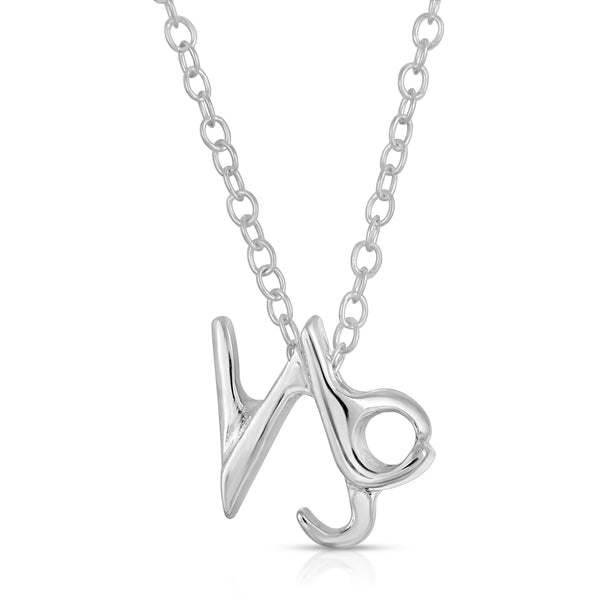 Zodiac Collection, Horoscope Collection, the w brothers horoscope sign collection made with premium A Grade 925 sterling silver. Scorpio Horoscope Charm Collection silver jewelry, fashion necklace jewelry. Capricorn Zodiac sign jewelry necklaces horoscope sign cute necklaces by thewbros. Available in silver, gold, rose gold at www.thewbros.com.