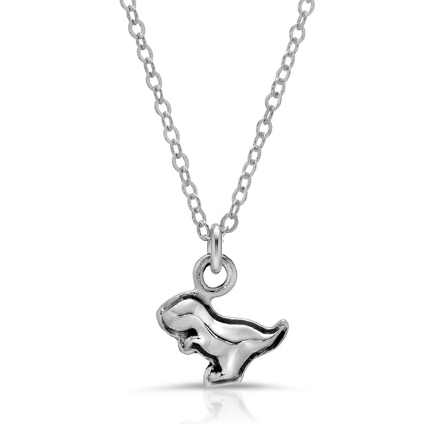 The W Brothers Dinosaur Collection featuring our T-Rex Necklace Pendant, crafted from premium grade 925 Sterling Silver, perfect for women's fashion, style, and class. Available at www.thewbros.com
