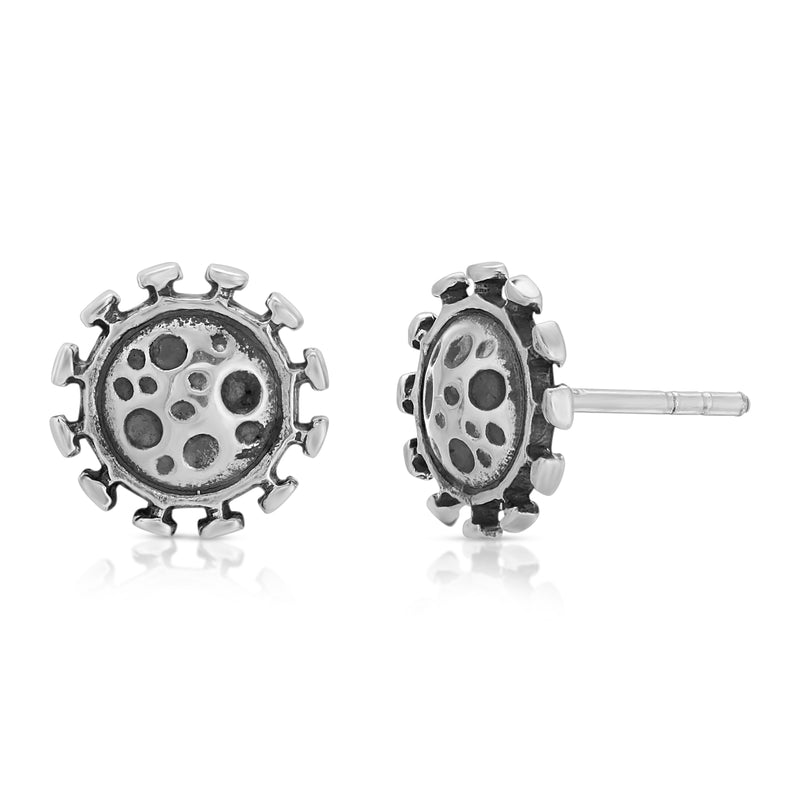 Earrings, designed from premium Grade A 925 Sterling Silver, perfect for a fashionable & cute look for men and women. Available at www.thewbros.com.