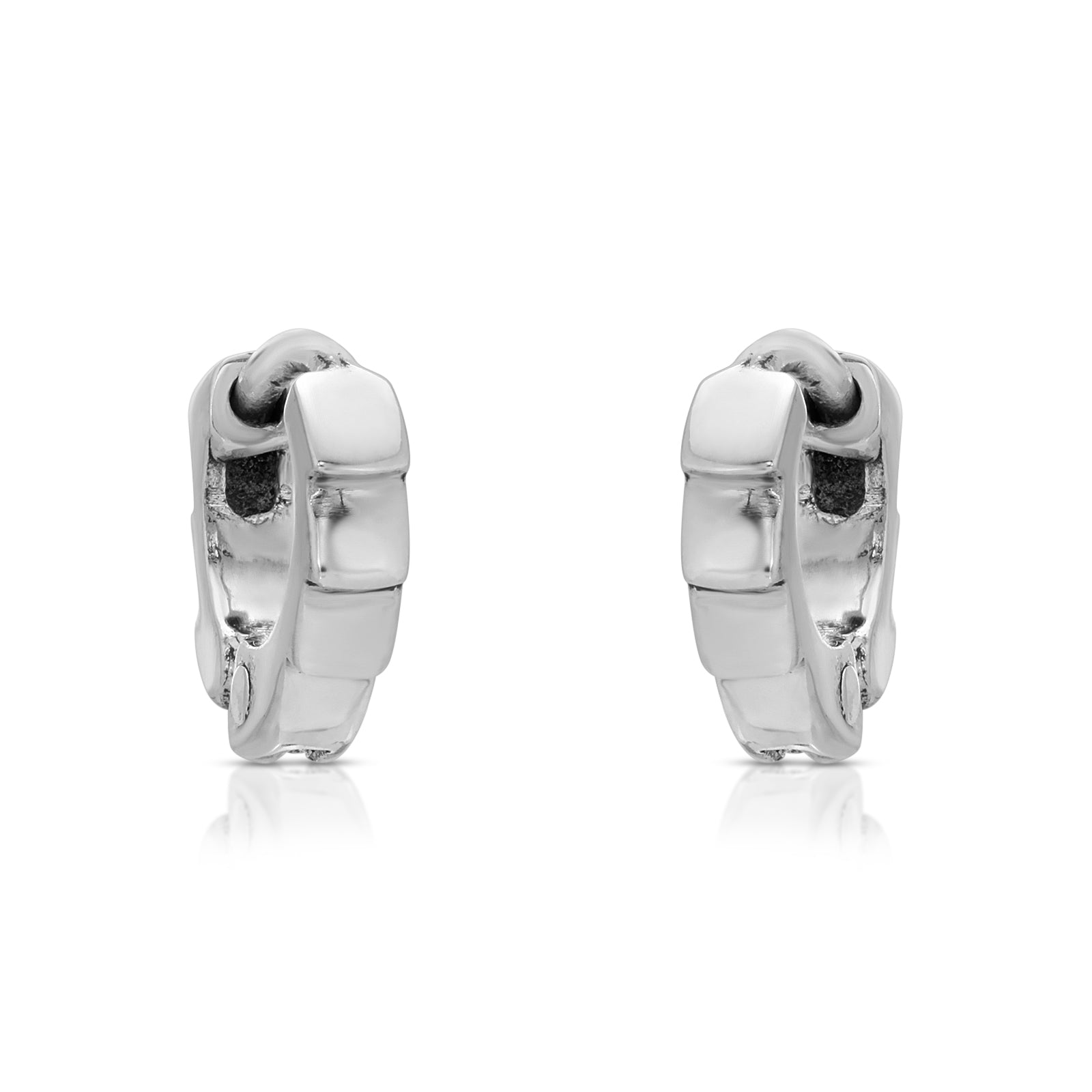 Up-Scaled Cuff Earrings - The W Brothers