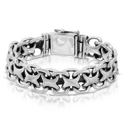 Bismark Silver Bracelet - The W Brothers