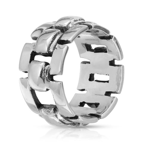 Link Silver Ring