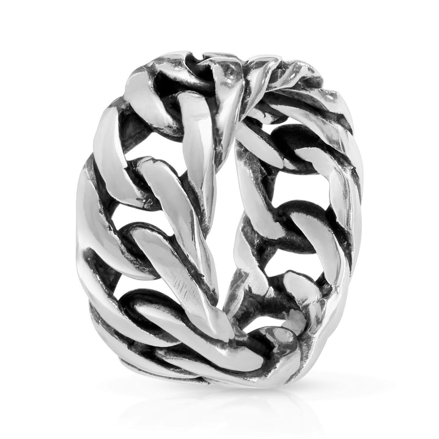 Cuban Sterling Silver ring for men and women, The W Brothers 925 sterling silver jewelry