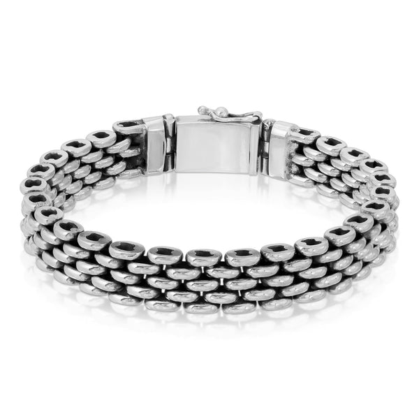 Panther Chain Silver Bracelet - The W Brothers