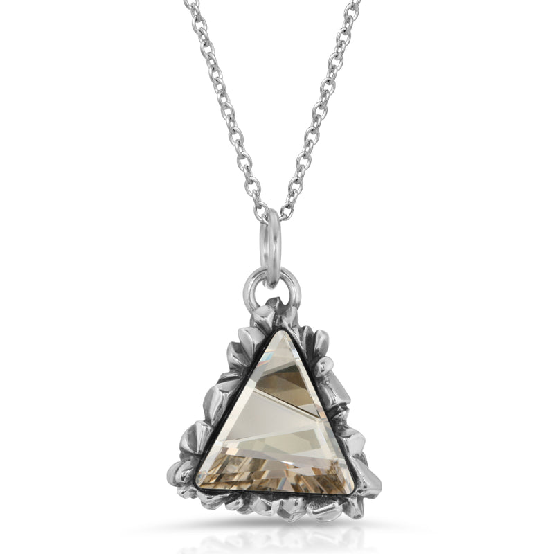 Trinity Cut White Swarovski Pendant - The W Brothers
