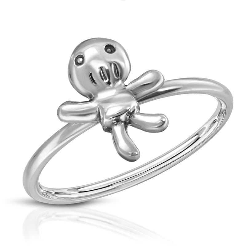 The W brothers Monsterz Collection featuring our handcrafted Voodoo Doll Ring, designed from premium Grade A 925 Sterling Silver, perfect for a fashionable & cute look for men and women. Available in silver, gold and rose gold at www.thewbros.com.