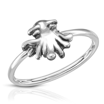 The W Brothers silver squid ring, silver kraken ring, silver stackable ring for women, the w bros thewbros 925 sterling silver ring, cute ring for women females girls silver jewelry the w brothers, cute silver ring, cute monster ring, the w bros stackable baby kraken silver ring, silver ring for woman, woman silver stackable ring, silver cute ring, stackable silver ring, fashion ring silver jewelry, the w brothers silver jewelry rings