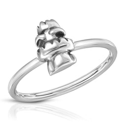 The W brothers Monsterz Collection featuring our handcrafted Tiki Totem Ring, designed from premium Grade A 925 Sterling Silver, perfect for a fashionable & cute look for men and women. Available in silver, gold and rose gold at www.thewbros.com.
