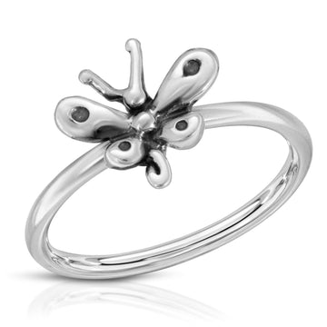 The W Brothers butterfly ring, made with 925 sterling silver. Beautiful butterfly jewelry ring, butterfly rings, female girl ring, women woman butterfly ring, petite small stackable butterfly ring, stackable ring, silver girl butterfly ring, silver butterfly ring for women, woman jewellery, silver butterfly ring, monarch butterfly ring, baby butterfly ring.