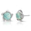 Larimar Vortex Earrings