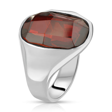 The W Brothers 925 Sterling Silver Inferno Swarovski Ring