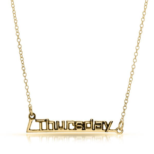 Thursday Necklace - The W Brothers