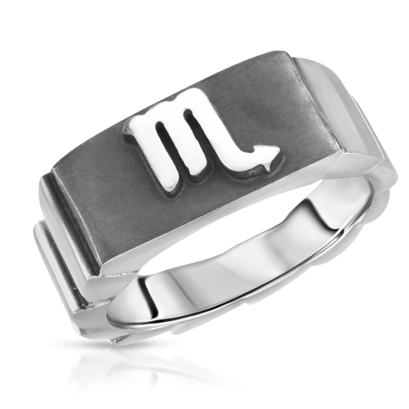 Scorpio Horoscope Zodiac Ring - The W Brothers