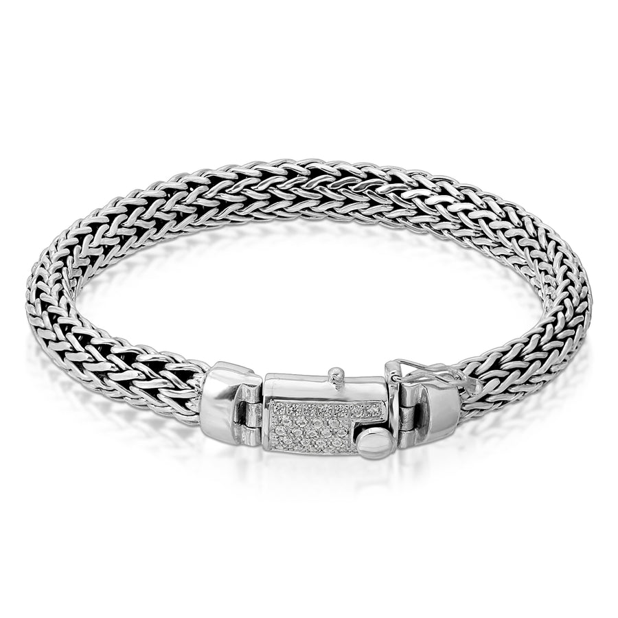foxtail silver bracelet The W Brothers chain men