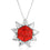 Fire Blossom Necklace