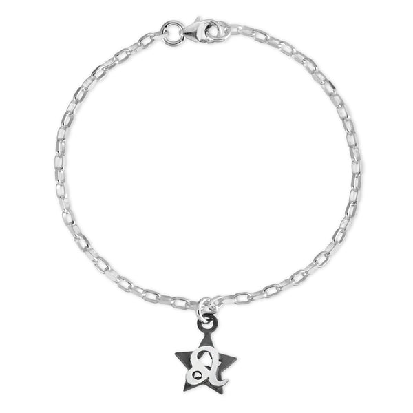 The W Brothers Sterling silver zodiac horoscope Leo charm bracelet crafted to perfection in premium 925 Sterling silver, available in silver, real 18k gold or rose gold layering. Shop your star-signs at thewbros.com