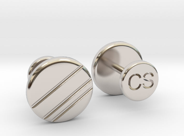 The W Brothers custom silver cuff-links suit customized cufflinks gold rose gold high quality business casual tuxedo suit cufflinks customization