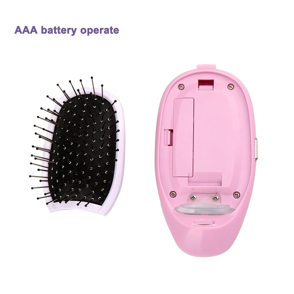 Portable Ionic Hairbrush
