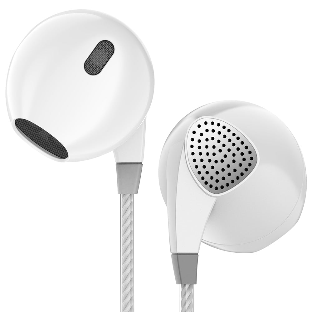 Super Bass Headset - In-Ear Earbuds with Microphone