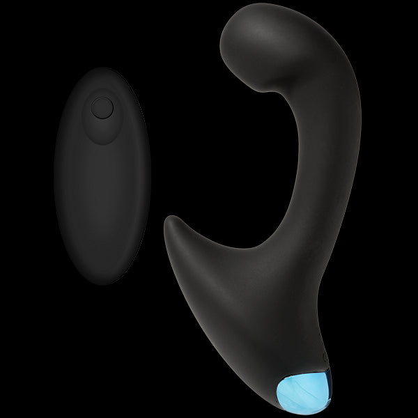 Optimale P-Curve Silicone Remote Rechargeable Black
