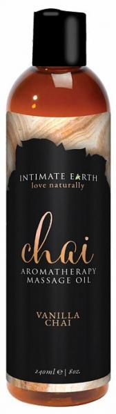 Intimate Earth Chai Massage Oil 8oz