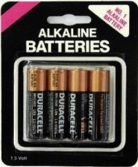 Duracell AA Batteries 4 Pack AA