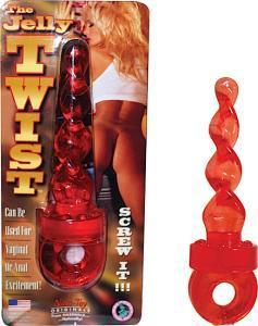 The Jelly Twist - Red