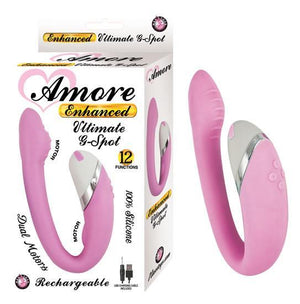 Amore Enhanced Ultimate G-Spot Pink Vibrator