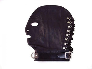 Rouge Mask D-Ring Lockable Buckle Strap Black